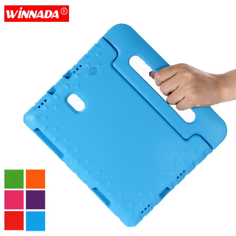For Samsung Galaxy Tab A A2 10.5 inch 2018 <font><b>SM</b></font> <font><b>T590</b></font> T595 T597 <font><b>case</b></font> Shock Proof EVA full body stand Kids Safe non-toxic cover image