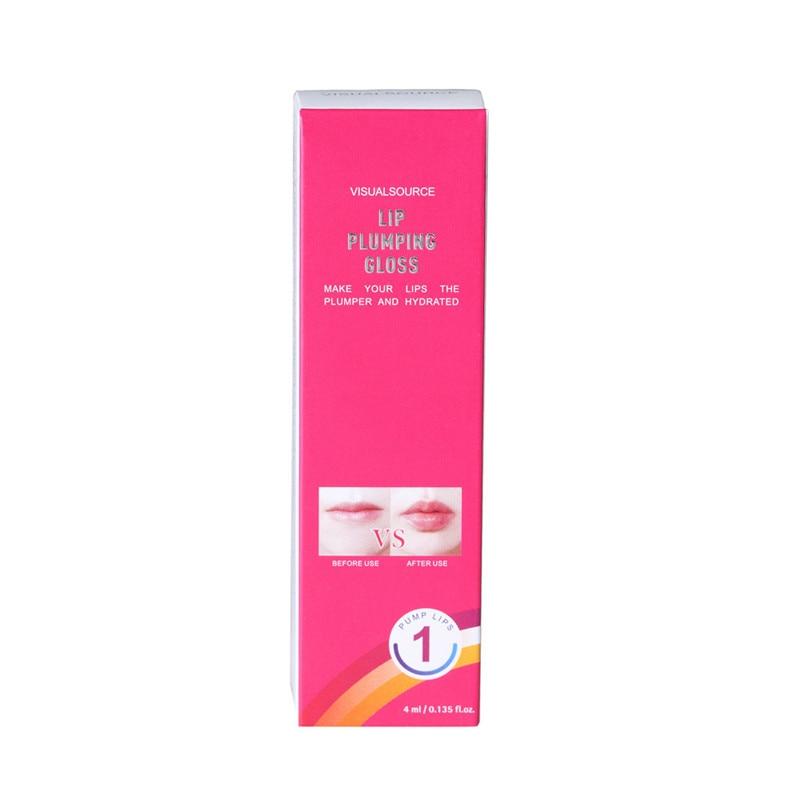 Waterproof Matte Liquid Lipstick Long-Lasting Plump Lip Gloss Cosmetics Beauty Moisturizer Lip plumper Lip Gloss #52220 4