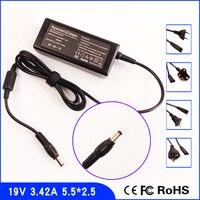 19 V 3.42A Laptop Ac Power Adapter Ładowarka + Kabel do ASUS R1 S1 S6 S9 V6 V68 W1 W3 W5 W6 W7 X5 Z33 Z35 Z61 Z63 Z70 Z71 Z84 Z9