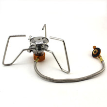 Outdoor Camping Stove 1 8 Hours Long Burner Gas Stove Portable With Bag Camping Hiking Picnic