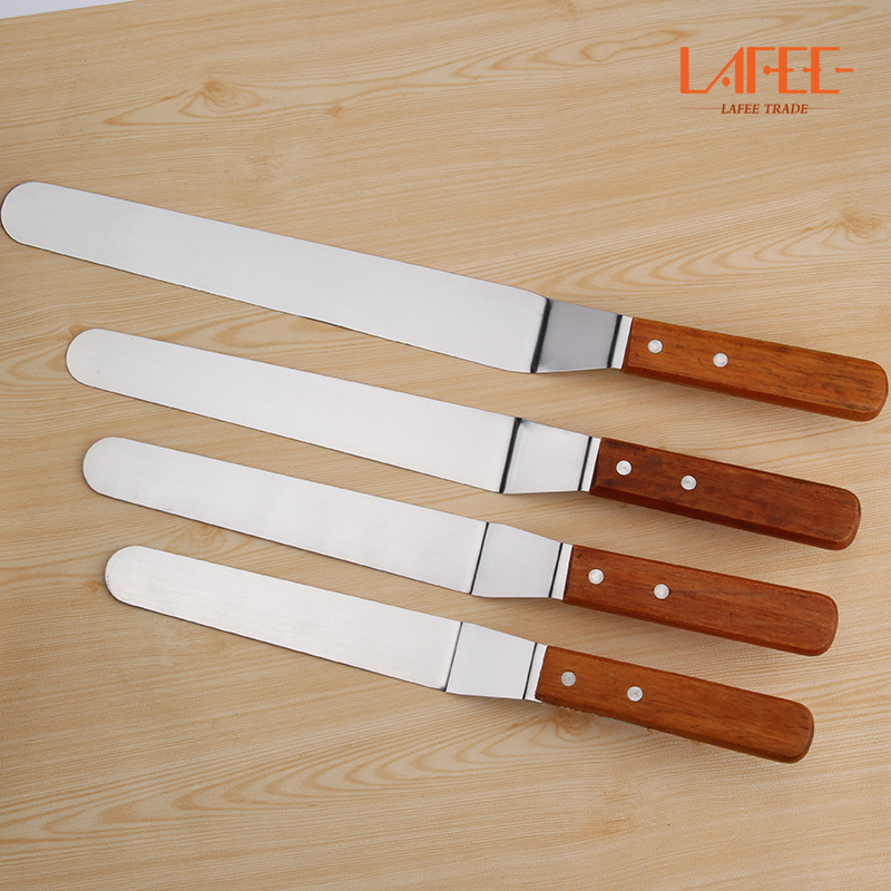 US $16.8 |free shipping palette knife Cake Decorating Tool Smoother spatula  for confectionery substances smooth flexible blade-in Bakeware Sets from ...