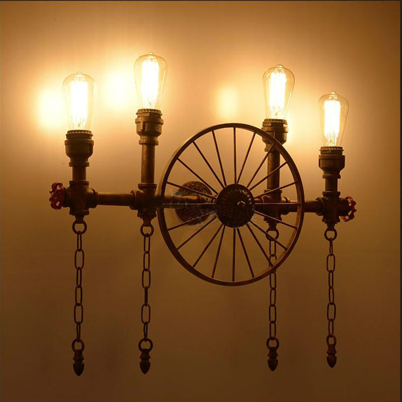 Water Pipe Wall Lamps 10