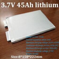 GTK lipo 3.7v 45ah lithium polymère batterie 5C 225A décharge haut taux pour bricolage 12v 90Ah 50ah ebike voiture démarrage batterie UPS scooter