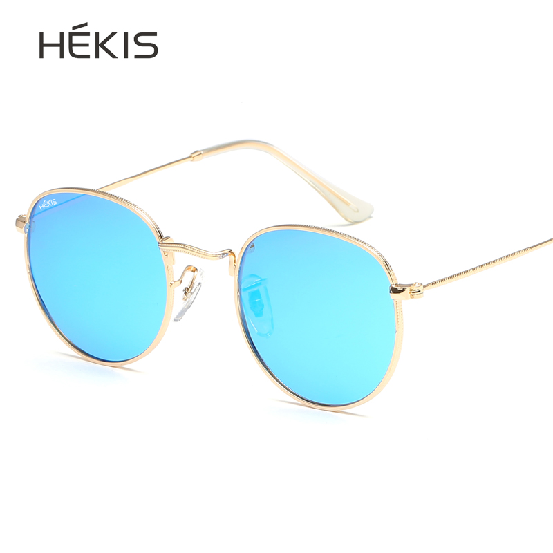Sunglasses round retro women men polarized 2019 luxury brand designer for gothic punk vintage sun glasses pink red black blue in Women 39 s Sunglasses from Apparel Accessories