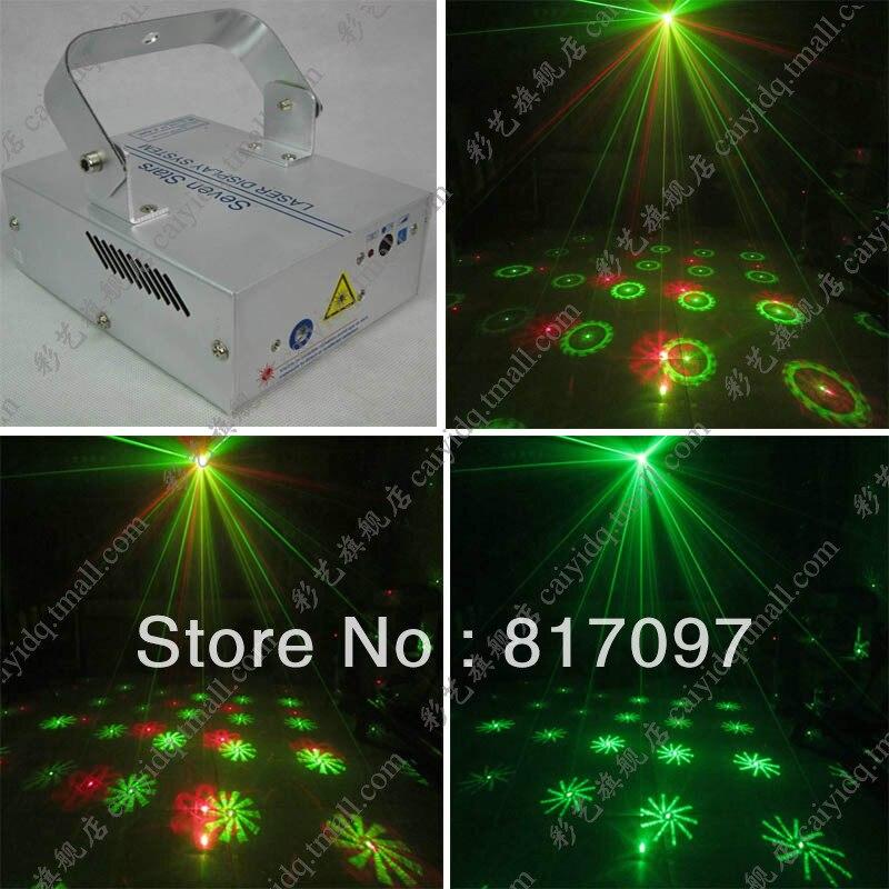 Wholesale Venta 6 Patterns Laser Light Disco Lights 6 Patrones Luz Laser Sonido Iluminacion Matrimonio Salones Fiestas Bombillas