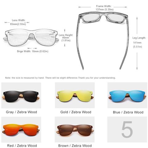 KINGSEVEN 2019 Handmade Wooden Eyewear Polarized Mirror Sunglasses Men Women Vintage Design Oculos de sol masculino UV400 Karachi