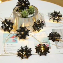 Christmas Outdoor Home Luces LED Decoration 3M 20pcs LED Fairy Ghost Spider Web Garland LED Party String Light(China)