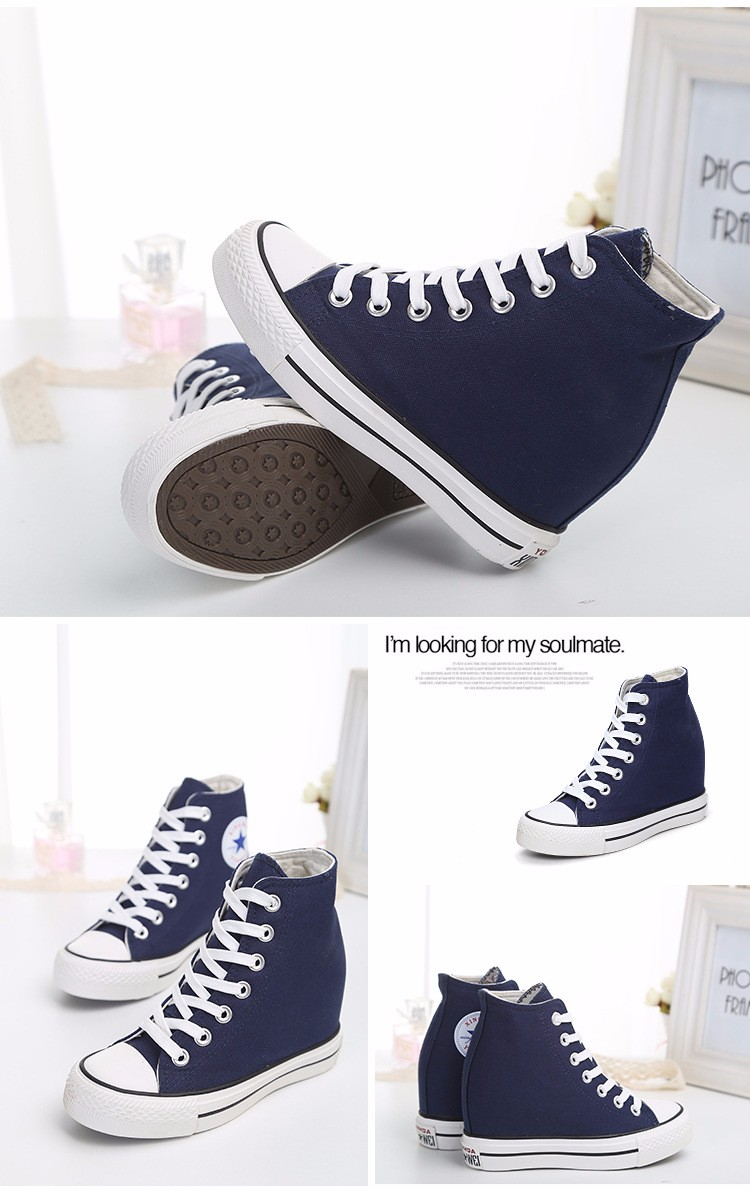 KUYUPP High Top Canvas Women Shoes Espadrilles Spring Autumn Womens Wedges Shoes Lace Up Casual Shoes For Female Sapatilha YD120 (18)