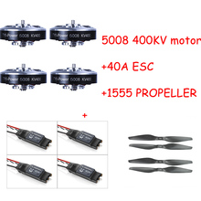 Brushless Motor 5008 400kv with 40A ESC 1555 Propeller RC Aircraft Plane Multi-copter Accessories 4pcs