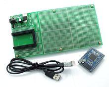 Double Side Prototype PCB Breadboard DIY 100x200mm 4.096V for Arduino Mega mini 2560 ATmega 2560 USB 2102