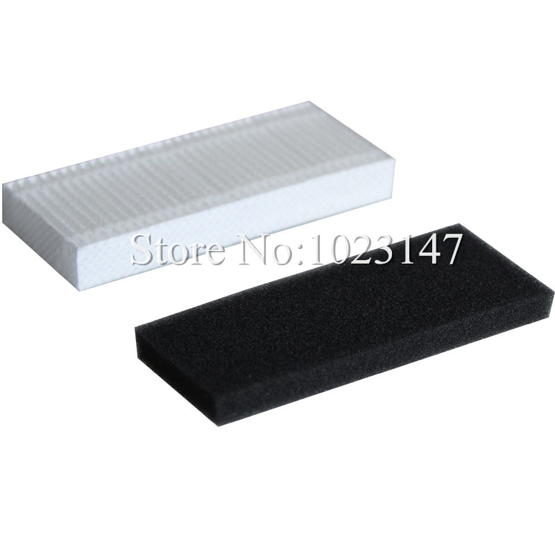 3 set Robot Vacuum Cleaner Filters HEPA filter for Ecovacs Deebot Dibea CEN630 CEN630 D66 D68 D73 D77 620 710 irobotisc Parts !(China)
