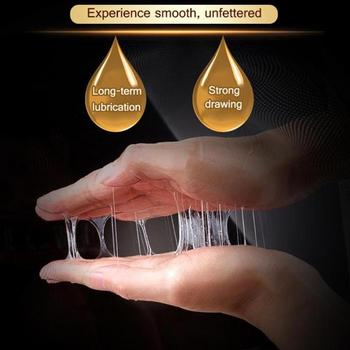 60ml Warming Cooling Lubricant Silk Sex Lubricants Silky Thick Water-based Sex Oil Vaginal Anal Gel Sex Products For Adult 5