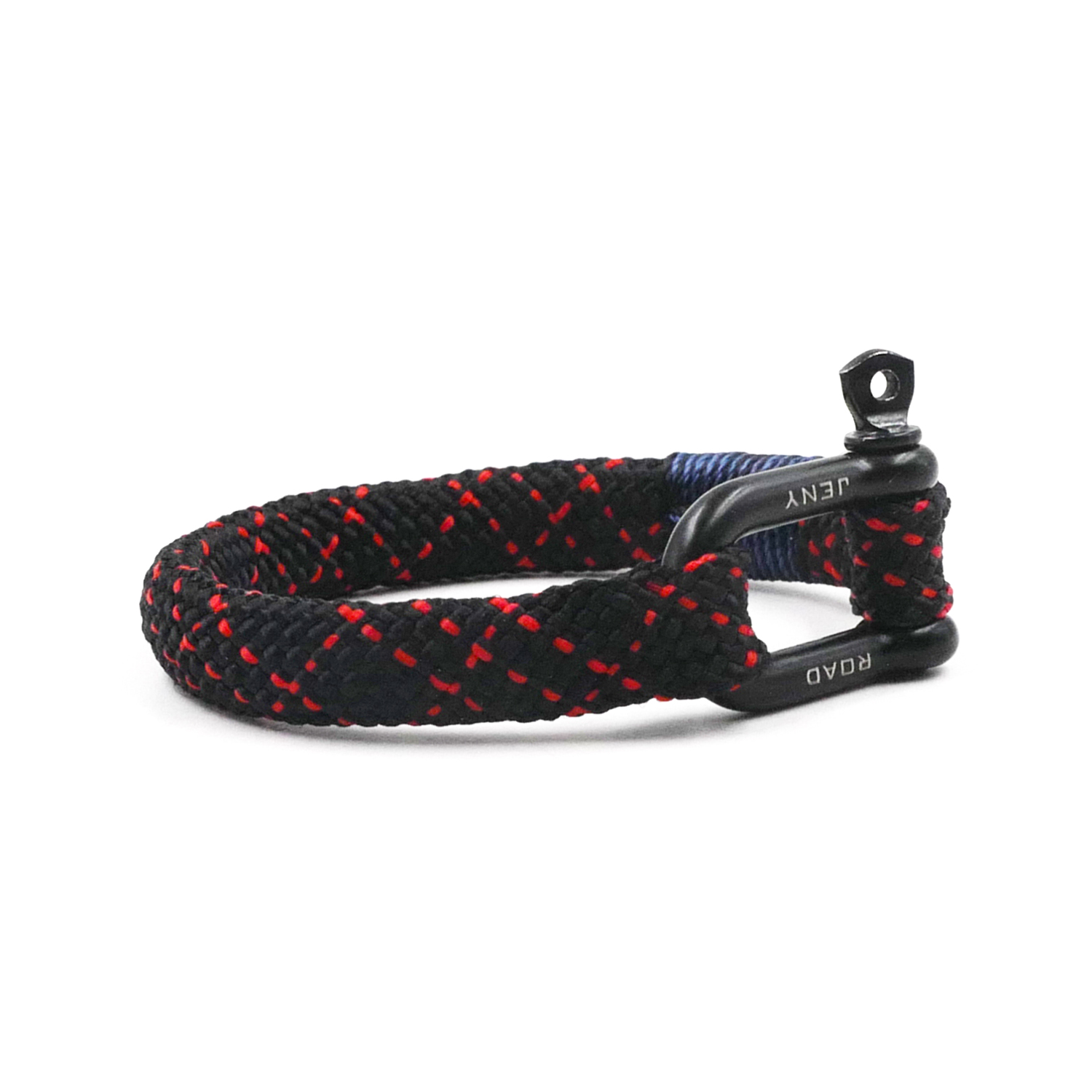 Nautical Braided Bracelet Hand-made Military Paracord Bracelet Parachute Cord Wrist Strap Wristband With D-Shackle BRT-N504