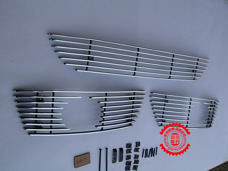High quality  Front Grille Around Trim Racing Grills Trim For 2009-2012 Volkswagen PASSAT CC ледянка сима ленд зайка микс 788982