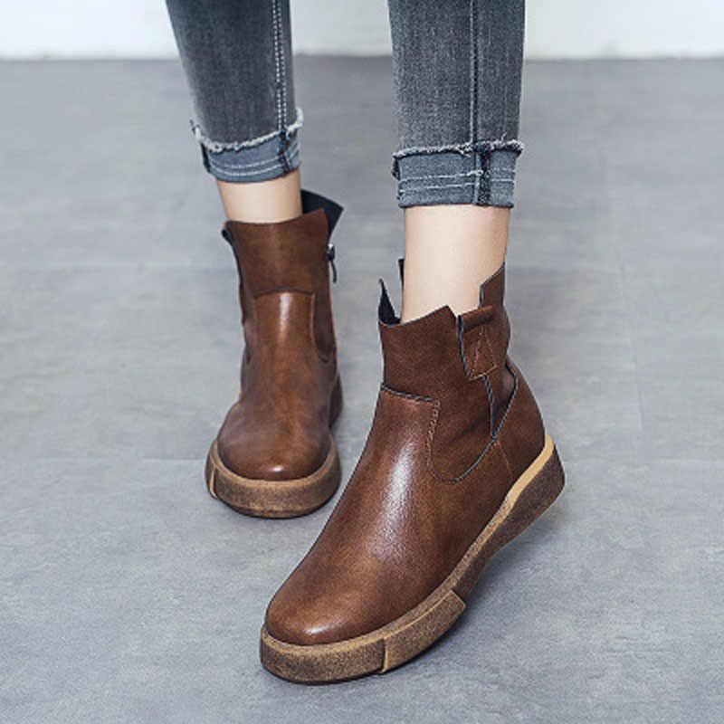 GILOLA faux kürk sıcak kar orta buzağı kadın botları kışlık botlar platformu bayanlar kadın ayakkabı kadın en iyi beyaz siyah # Y0799047Q