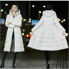 Brieuces зимняя куртка для женщин плотное теплое женское хлопковое