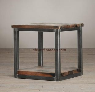 Do The Old Retro Nostalgia Wrought Iron Coffee Table Square A Few Side Angle