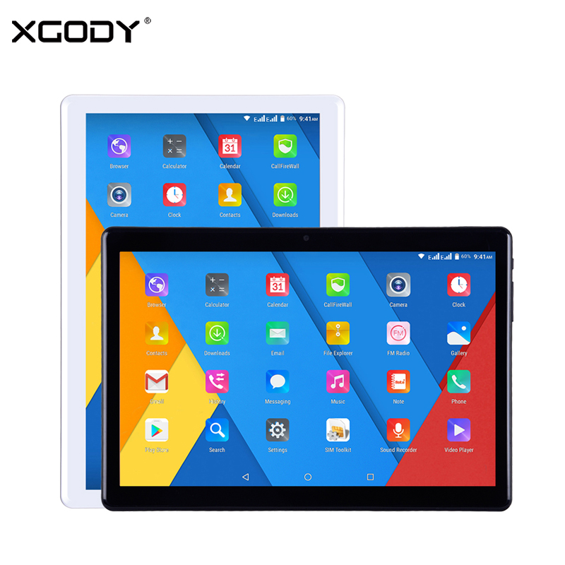 XGODY New TB01 3G Phablet Tablet PC 10.1 Android 7.0 1GB 16GB 1280x800 MTK6580 Quad Core WiFi 5MP Phone Call Tablets 5000mAh