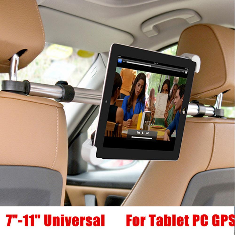 """Prix pour Support voiture Appui-Tête Stand Stents 7-11 """"soporte tablet téléphone support de voiture pour ipad mini 2 3 4 samsung asus kindle mipad en gros"""