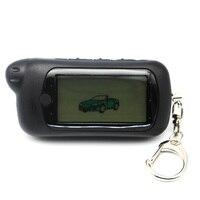 Carro fob chave de controle remoto para Tomahawk Russa RU Z5 Z5 Z3 lcd dois sentidos remoto do sistema de alarme de carro