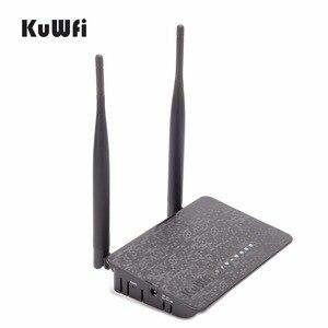 Image 2 - Kuwfi 802.11n 300 300mbps の無線ルータ無線 lan エクステンダーと 2/5dBi アンテナ強化 wifi 信号ワイヤレス ap ルータ無線 lan amplifie
