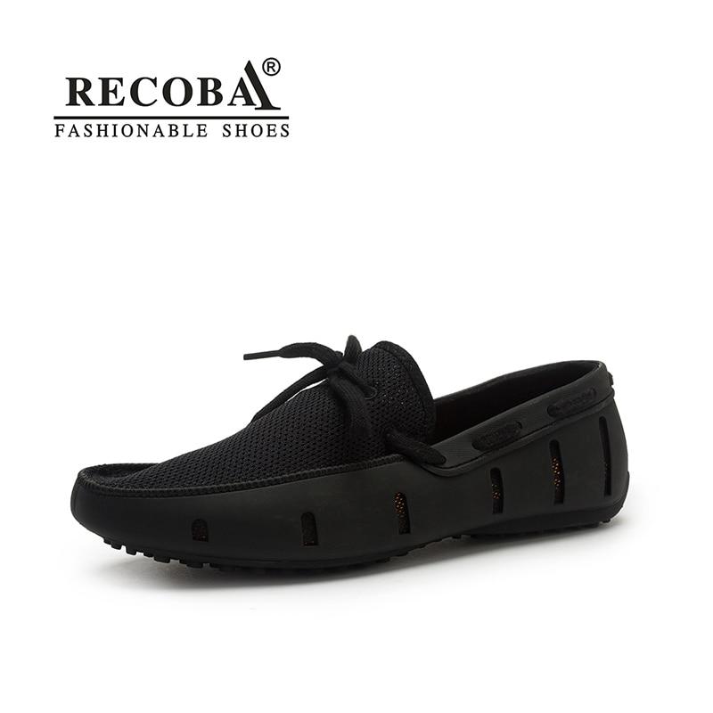 Hommes chaussures décontractées respirant grande taille docksides chaussure bateau d'été air mesh chaussures hommes sandales chaussures à enfiler mocassins mocassins pour hommes