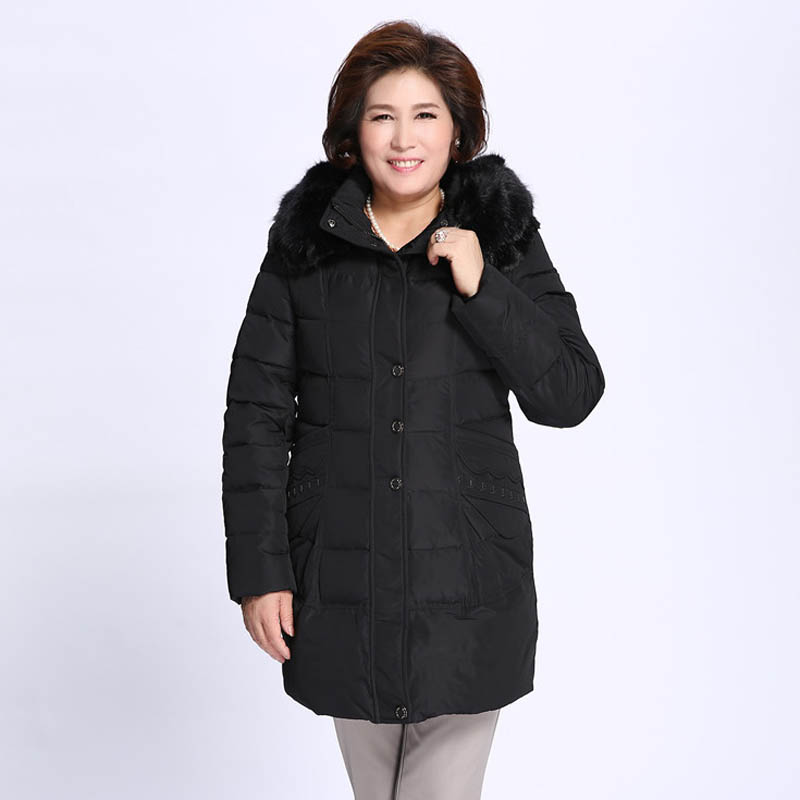 5XL 6xl 7xL 8xl 9xl plus size Long years in the middle-aged and old women's down jacket light womens down jacket P19BH89 men plus size 4xl 5xl 6xl 7xl 8xl 9xl winter pant sport fleece lined softshell warm outdoor climbing snow soft shell pant