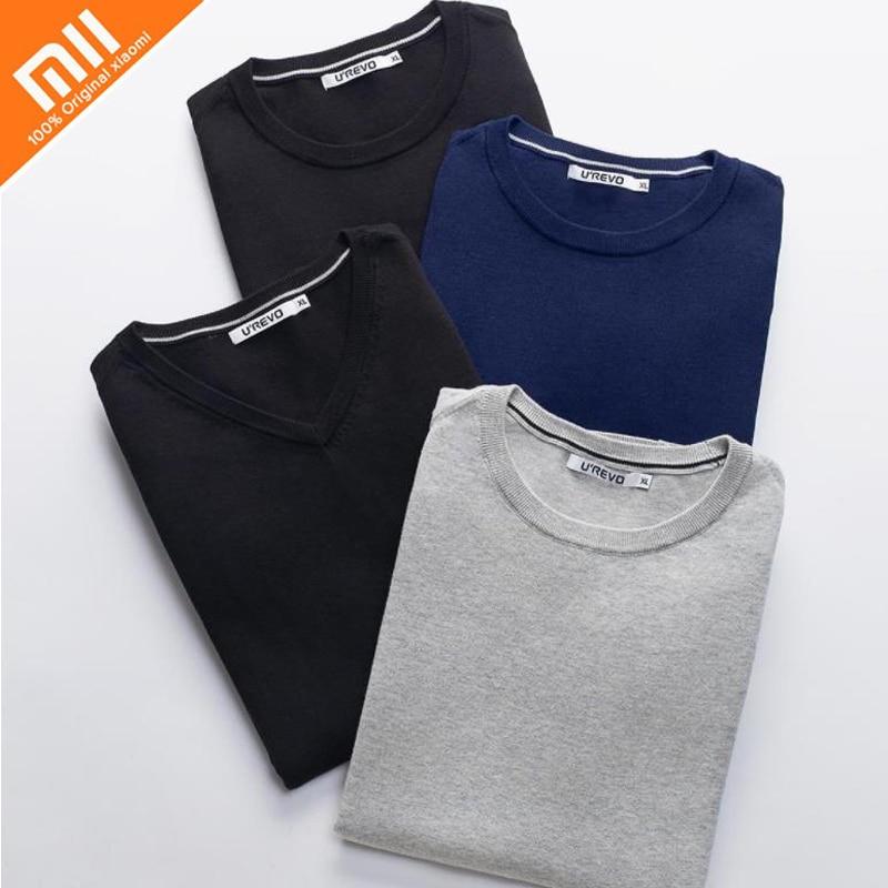 xiaomi You Qi cashmere men s v neck pullover cotton shirt 100 imitation cashmere cotton yarn