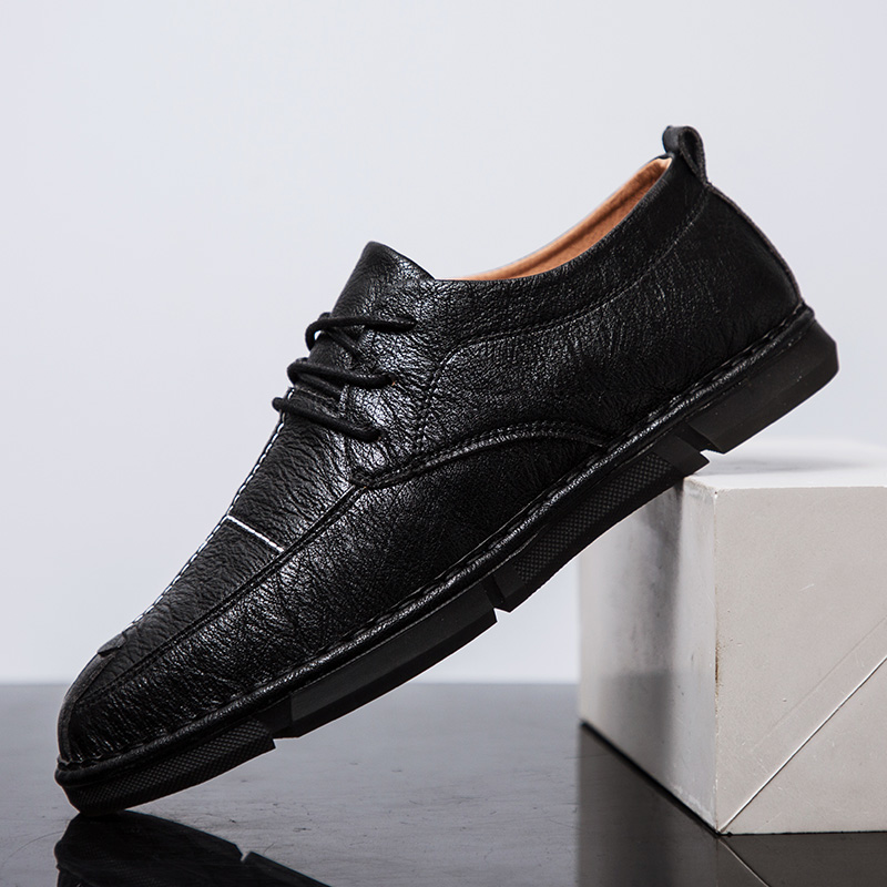 Casual Sneakers Men Summer Artificial Leather Brand Men Shoes Lace Up Men Shoes Casual 2018 Fahion Men Designer Shoes in Men 39 s Casual Shoes from Shoes