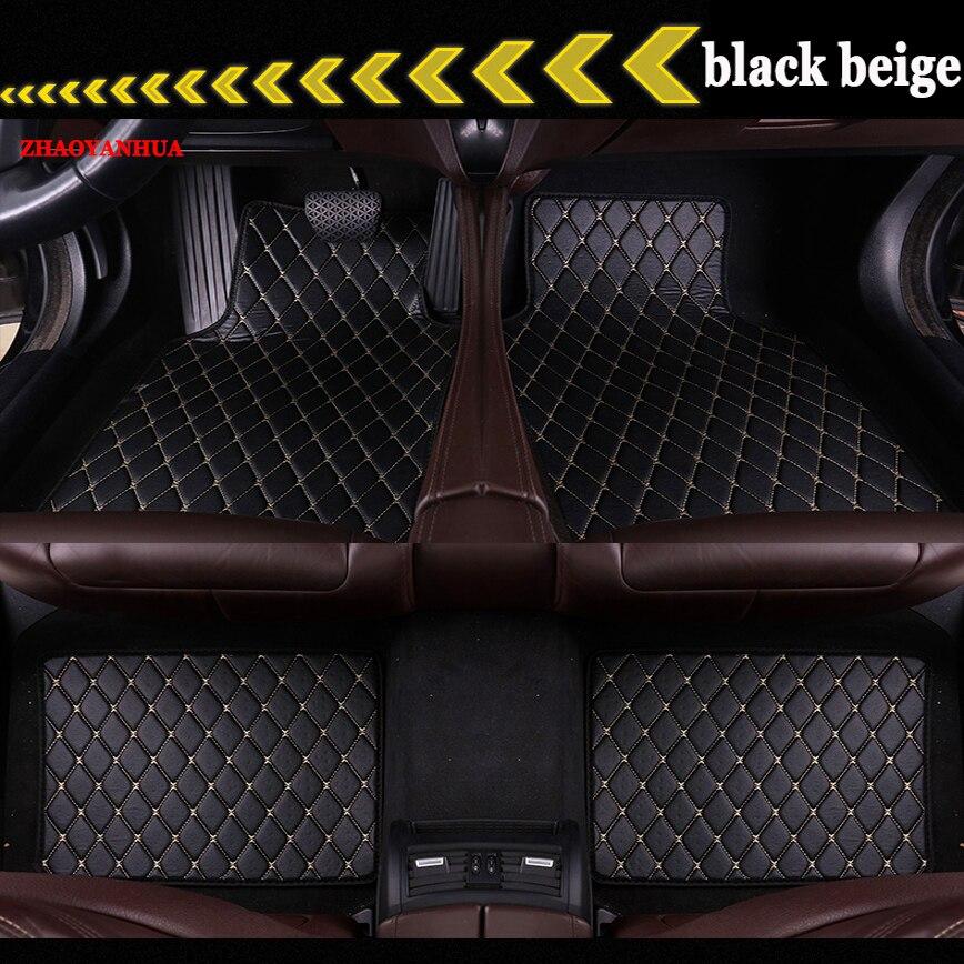 ZHAOYANHUA Car Floor Mats Universal Fit Driver & Passenger