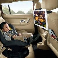 Assento de carro volta travesseiro encosto cabeça montagem titular preto para huawei mediapad m5 m3 m1/mediapad t5 t3 t2 para xiao mi almofada 4 3 2 1