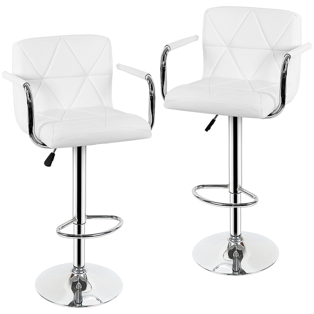 New 2pcs Modern Bar Chair Swivel Barstool Adjustable Lifting High Stool Bar Chair Soft Tabouret De Bar For Home Bar Funiture HWC