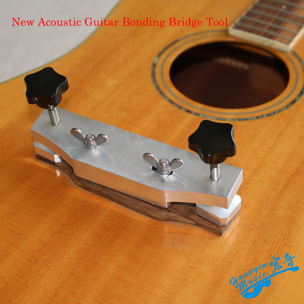 new acoustic guitar bonding bridge tool aluminum diy guitar making special tools in guitar parts. Black Bedroom Furniture Sets. Home Design Ideas
