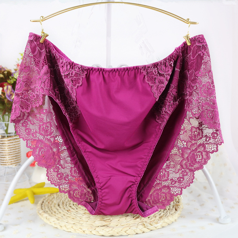New Arrival women's briefs sexy lingeries Milk Wire Waist Plus size 7XL pregnant woman underwears women   panties