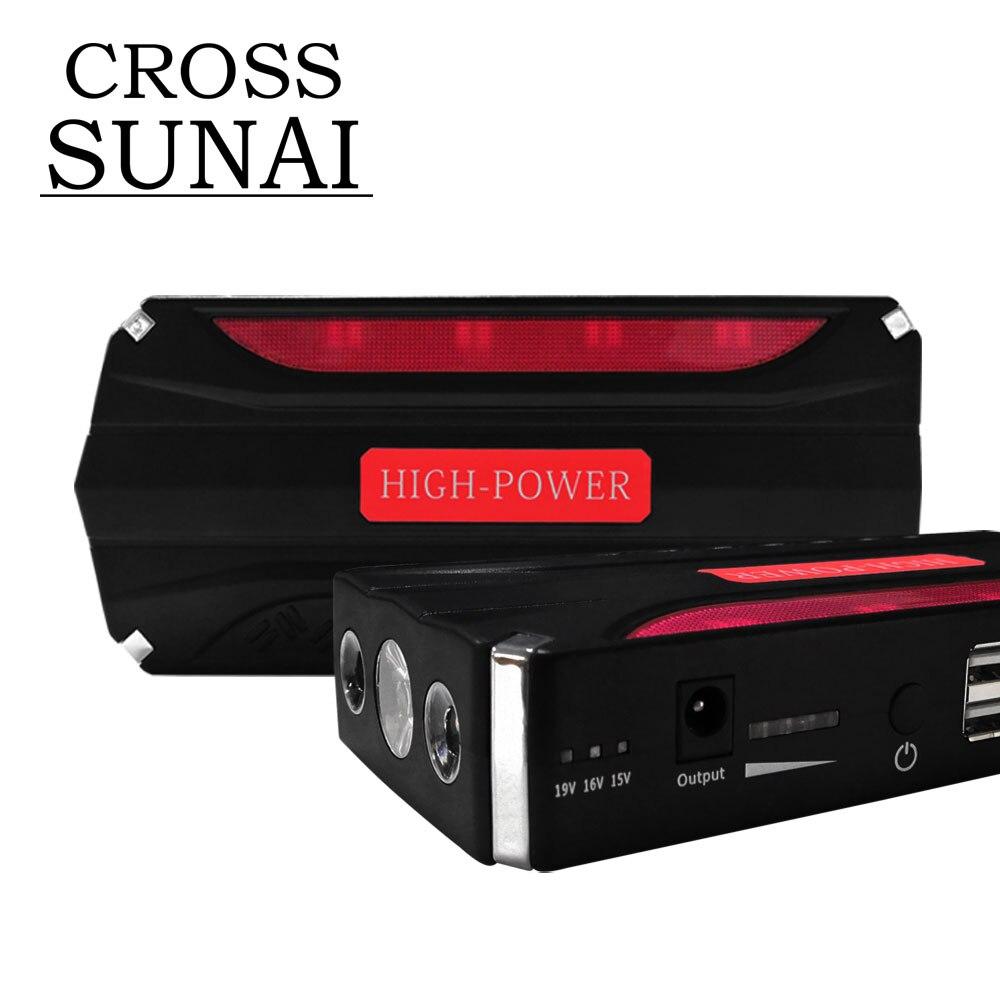 Portable Car Jump Starter Power Bank Car Starter USB 600A 12V 68800mAh High Capacity Starting Device