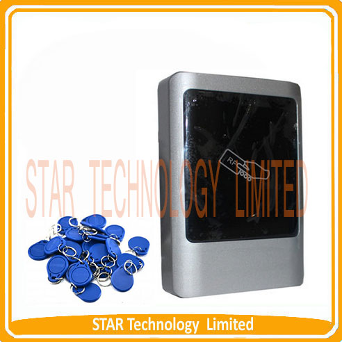 ФОТО No Keypad IP65 Waterproof Rfid Access Control 125Khz Rfid EM Card Access Control Outdoor Metal Access Control System