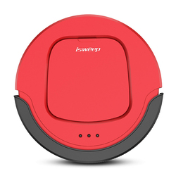 ISWEEP S550 Intelligent Robot Vacuum Cleaner For Home Smart Robotic Vacuum Cleaner Self-Charge Remote Control VS ILIFE V5s Pro