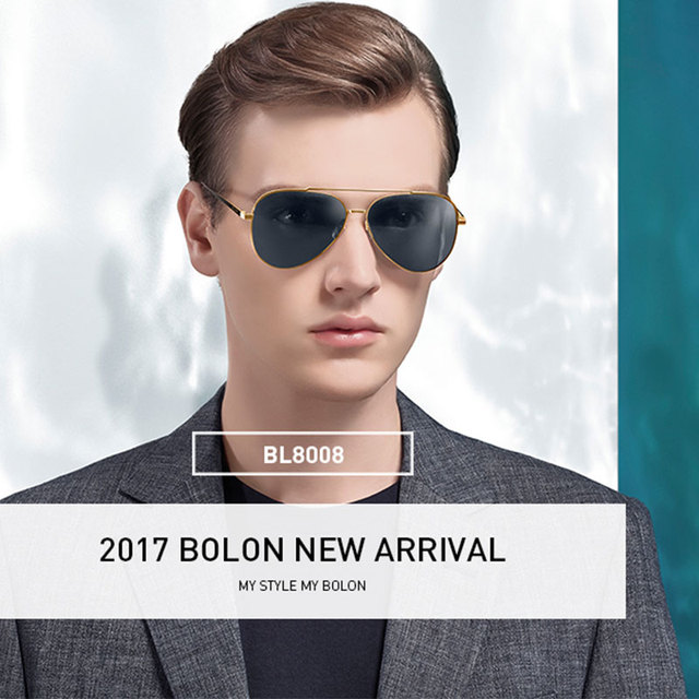 4fab6134fe Brand sunglasses Men and women BOLON Sunglasses 2017 new fashion sunglasses  sunglasses HD polarized driving mirror BL8008