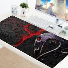 World of Warcraft Gaming Mouse pad Speed Locking Edge Large Natural Rubber Waterproof Game Desk Mousepad Mat for Dota LOL Gaming