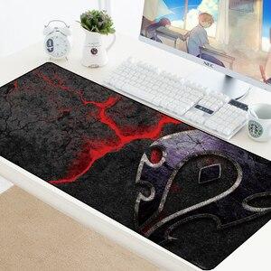 Image 3 - World of Warcraft Gaming Mousepad Speed Locking Edge WOW Large Natural Rubber Waterproof Game Desk Keyboad Mat for Dota Computer