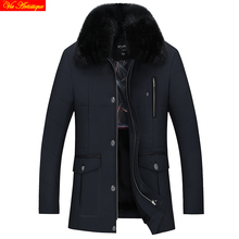 men winter coat blouson homme hiver fur jacket icebear men's winter parka long warm tiger force erkek mont dark navy army