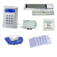 ACSS31 Senha Porta Kit Sistema de Controle de Acesso 600Kg Fechadura Magnética