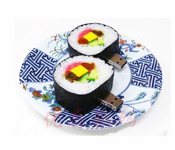 100% da capacidade real japonês sushi food modelo usb2.0 4G/8G/16G USB Pen Drive de Disco Flash Memory Stick usb creativo S72 BB