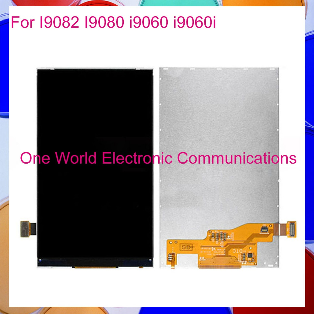 One World High Quality For Samsung Galaxy Grand I9082 I9080 I9060 I9060i LCD Display Screen Tracking Code