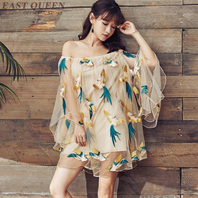 2fda042ef US $43.45 45% OFF|Japanese dress kimono modern Boho chic mexican hippie  dress women ethnic style dress clothing bohemian dress DD423 F-in Dresses  from ...