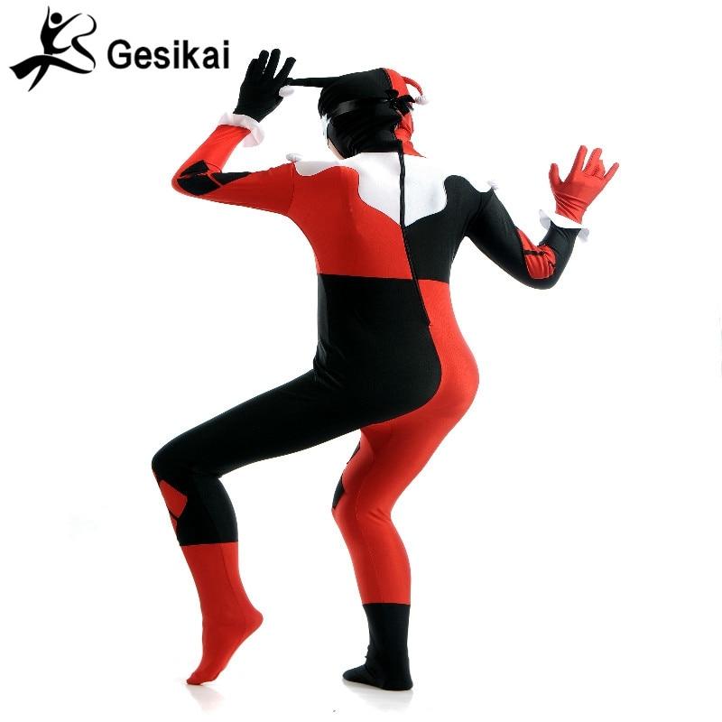 Әйелдердің сиыр қызы Zentai Толық Bodysuit - Костюмдер - фото 5
