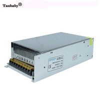 Tanbaby Dimmable נהג הוביל אספקת חשמל מתג AC 110 V/220 V כדי DC 12 V 40A 480 W שנאי מתח Led רצועת אור