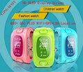 Original Smarcent Bebê Rastreador GPS wifi + GPS de pulso inteligente wifi Q50 além de q50 + relógio de crianças sos smart watch suporte gsm anti perdido