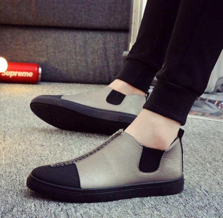 2017 brand new spring fashion men leather casual flats shoes Breathable loafers shoes Men's Casual Leather Driving Shoes  EE-14 2017 new fashion summer spring men driving shoes loafers real leather boat shoes breathable male casual flats