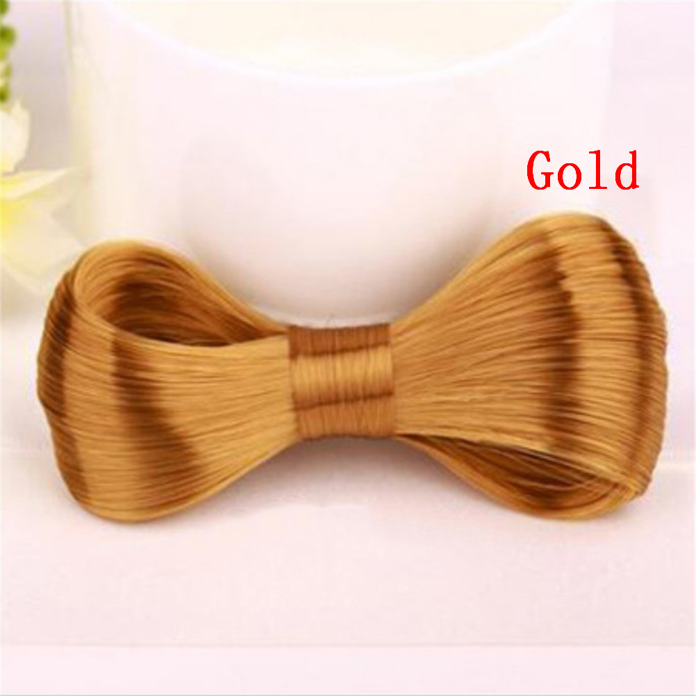 1 Pc Tie Wig Shape Hairpin Big Bow Hairclips 5 Colors Lovely Girl's Exquisite Beautiful Elegant Hair Clip Hair Accessories